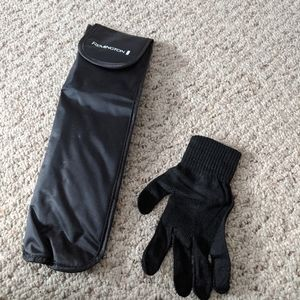 Remington case & glove